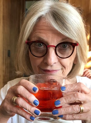 Food editor Esther Davidowitz and her beloved Negroni