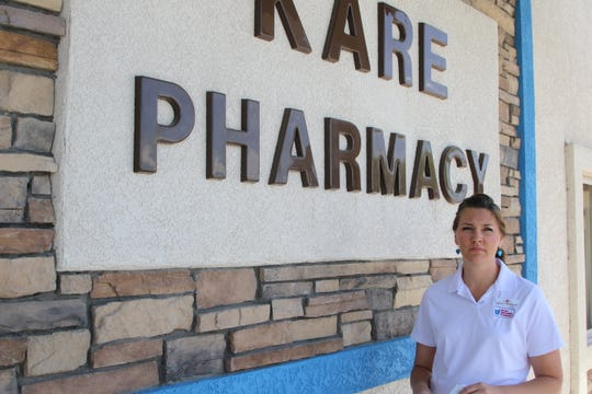 Pharmacist Ashley Seyfarth plans to begin offering COVID-19 antibody tests at both Kare Drug locations as soon as she receives approval from the FDA.