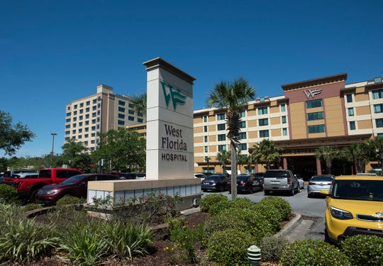 West Florida Hospital on North Davis Highway is one of three major health care providers in Escambia County.