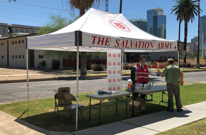 The Salvation Army has opened heat-relief stations across the Valley, while following CDC guidelines.