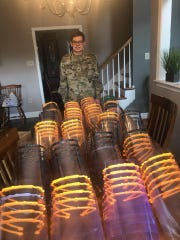 When Shippensburg University ROTC Cadet Will Lamont got his 3D printer years ago, he never imagined he'd be using it to make personal protective equipment during a pandemic.