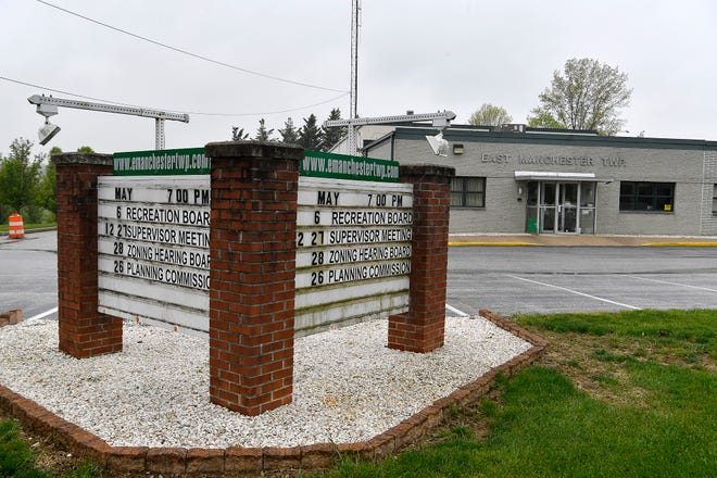 East Manchester Township buildingWednesday, May 6, 2020John A. Pavoncello photo