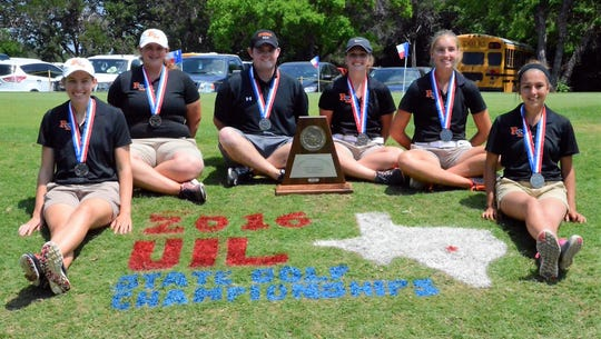 The Robert Lee Lady Steers finished second at the UIL Class 1A state tournament in 2016.