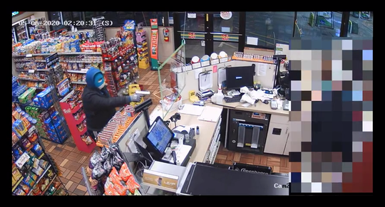 Police are investigating a robbery that occurred 2 a.m. May 5 at a Get-N-Go gas station in the 600 block of South Cliff Avenue.