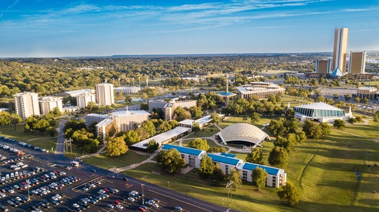 GEB broadcasts from Oral Roberts University in Tulsa, Oklahoma.