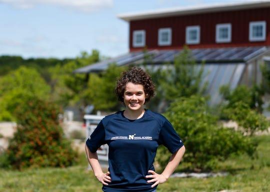 "Ariel ""Ari"" Sheckley, a senior at Nixa High School, will be attending the U.S. Naval Academy."