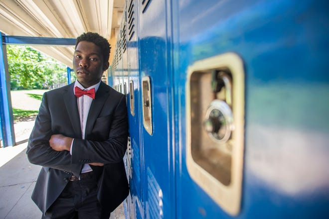 Max Ngnepieba, 18, a senior at Rickards High School, will be attending Stanford in the fall
