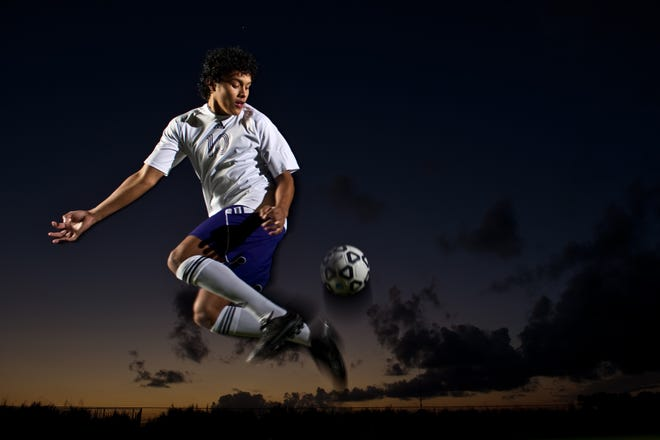 Fort Pierce Central's Miguel Morales was the 2012 TCPalm Boys Soccer Player of the Year.