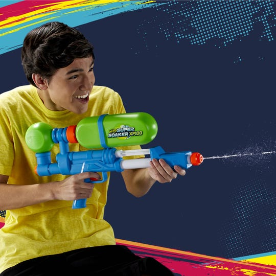 The Nerf Super Soaker Xp100 Lifestyle is a good choice for summer fun.