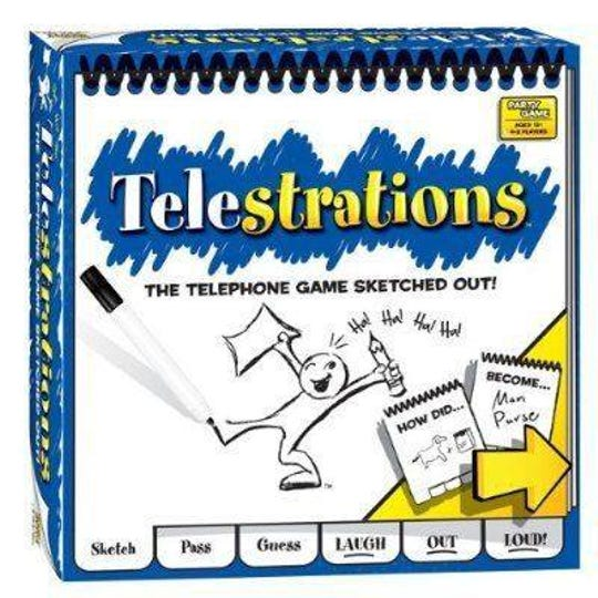 The Game Vault recommends Telestrations as a new option for families shopping for board games for the summer.