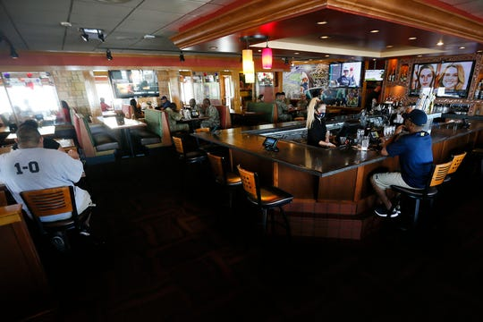 Applebee's dining room reopened Wednesday, May 6, at 1766 Airway Blvd. in El Paso.  Applebee's reopened their dining rooms in El Paso on May 1 after being closed six weeks by city and county orders, as part of an effort to curb the spread of COVID-19.