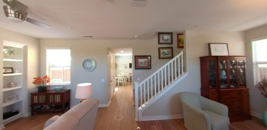 Real estate agents are increasingly using 3D tours like this one to show homes during the coronavirus pandemic. Potential buyers can virtually walk through the home and use a digital tool to measure parts of the home.