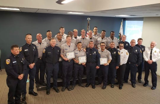 The first class of cadets graduated last month from a firefighting training program outside Camarillo aimed at helping formerly incarcerated people find jobs.
