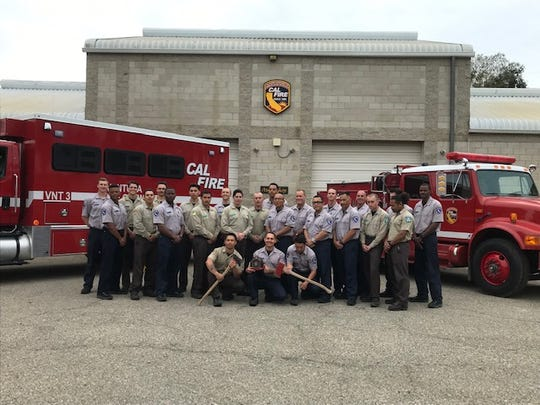 The first class of cadets graduated in April from a firefighting training program outside Camarillo aimed at helping formerly incarcerated people find jobs.