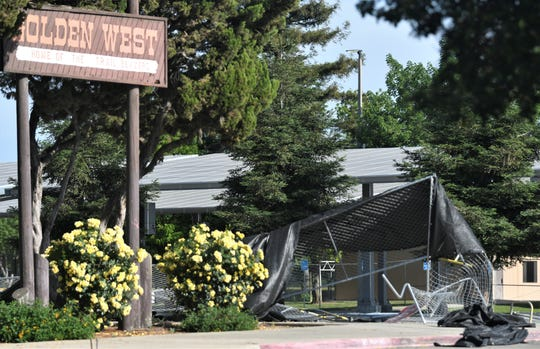 Visalia homicide detectives are investigating a deadly shooting at Golden West High School.