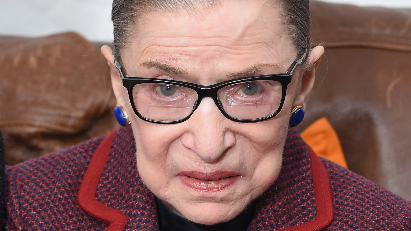 Justice Ginsburg hospitalized for gallbladder condition and infection, Supreme Court announces