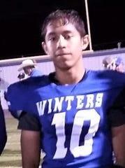 Winters senior Domynic Alvarado