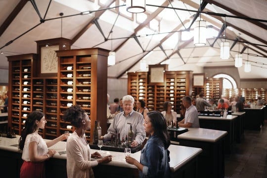 Biltmore's winery produces more than 150,000 cases of wine every year.