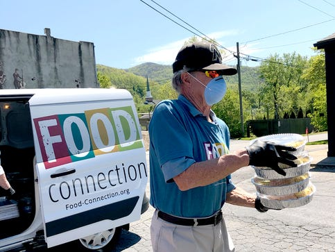 Food Connection gave away 300 free meals on the first Saturday of the program.
