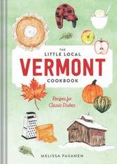 """""""The Little Local Vermont Cookbook"""" by Melissa Pasanen, due out May 26, includes a recipe for a forager's flatbread that features fiddleheads."""