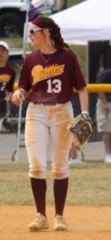 Maddie Burnite held down the shortstop spot for Gloucester Catholic for the previous two seasons.