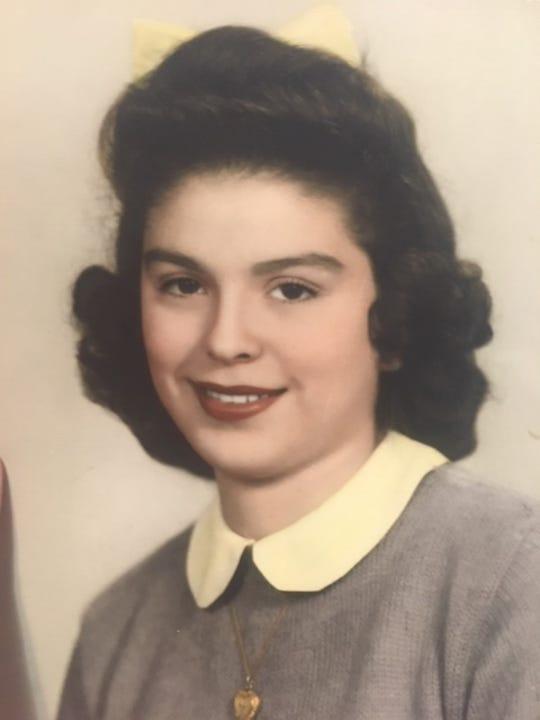 Antonia Leon during her senior year of high school.