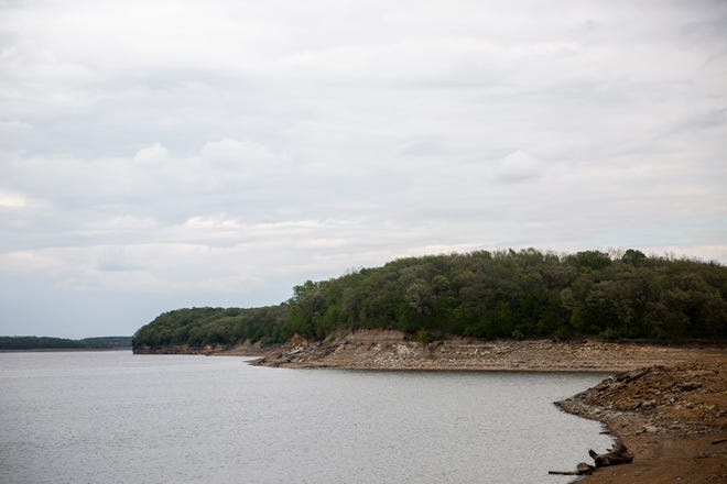 Elk Rock State Park sits on the edge of Lake Red Rock on Thursday, May 7, 2020, in Marion County.