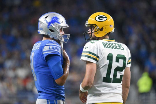 vs. Green Bay, Week 14, Dec. 13, 1 p.m., Fox