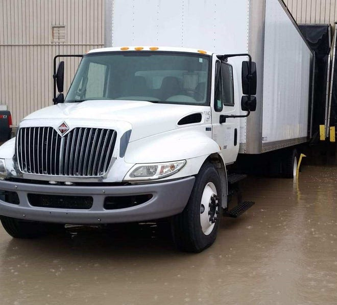 The box truck was reported missing Monday after it was stolen over the weekend.