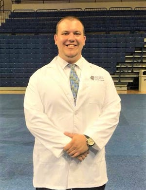 Collin Mange, a Clyde High School graduate, now works in the ICU at Firelands Regional Medical Center in Sandusky.