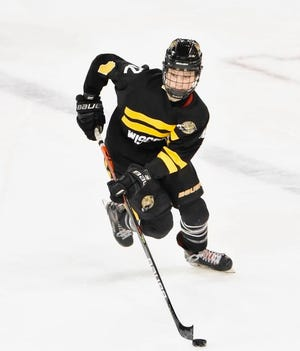 Quinn Finley was drafted with the first overall pick in Phase I of the United States Hockey League draft Monday.