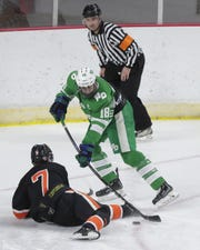Green Bay Notre Dame defenseman Sawyer Scholl was drafted by the Green Bay Gamblers this week.