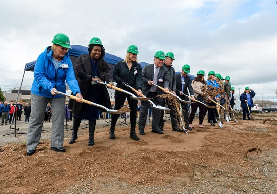 Benefis Health System held a groundbreaking  ceremony for the Benefis Women's and Children's Center at the vacant lot on the 2700 block of 10th Avenue South, Thursday morning.  The new 48,000-square-foot center will provide women's health and pediatric outpatient services starting in late 2021.