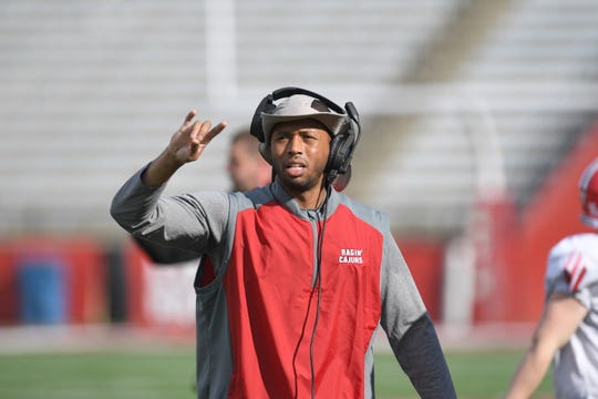 Former Ragin' Cajuns safety LaMar Morgan was hired to coach UL cornerbacks in 2019.