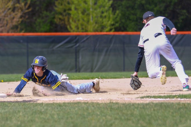 Brenden Tome (left) would have played his third season on Hartland's varsity baseball team this season.