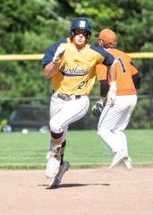 Hartland's Logan Tobel started at first base since his freshman year.