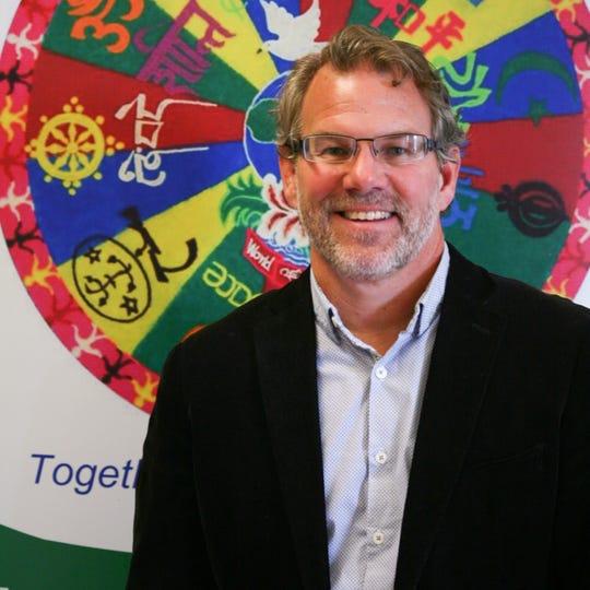 Jud Hendrix, executive director of Interfaith Paths to Peace.
