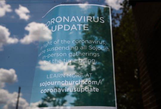 The Sojourn Church in New Albany will remain closed to in-house worshippers until further notice due to the coronavirus pandemic.