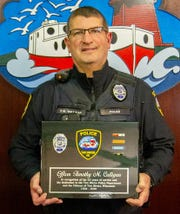 Two Rivers police officer Tim Culligan (pictured) is retiring after 22 years.