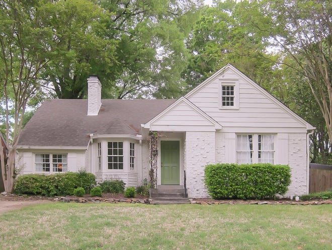 Annie and Jackson Eber purchased this cottage in the Joffre neithborhood.