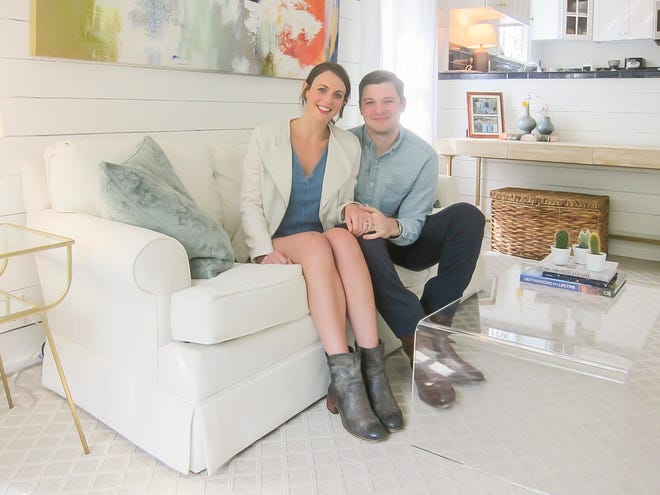 Annie and Jackson Eber love their new home in the Joffre neighborhood.