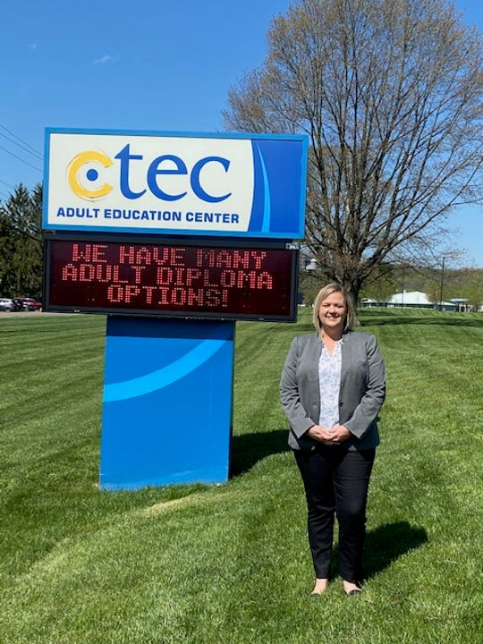 Lauren Massie works as the adult education director at C-TEC.