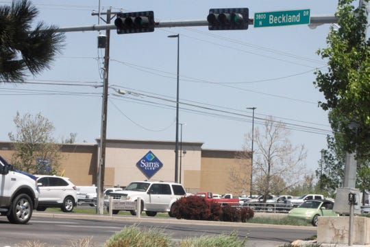 Sam's Club is pictured, Thursday, May 7, 2020, at the corner of Beckland Drive and East Main Street in Farmington.