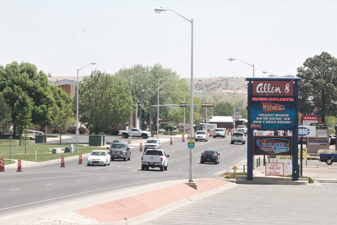 20th Street is pictured, Thursday, May 7, 2020 in Farmington.