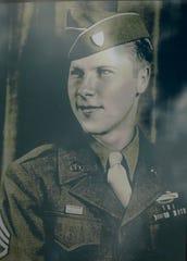Robert Tessmer in a photo taken in Stuttgart, Germany in 1945.