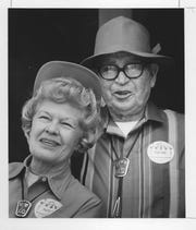 Nina and Eugene C. Pulliam, as pictured in 1969.