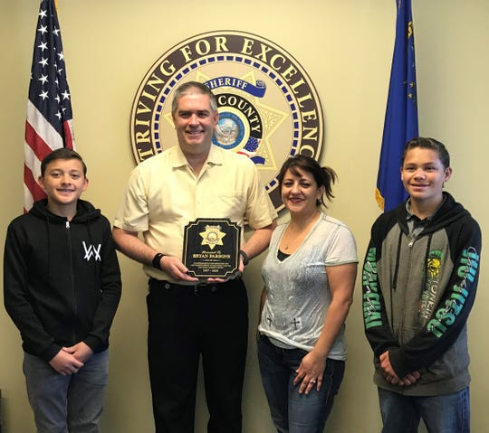Deputy Bryan Parsons is retiring after 23 years with Lyon County Sheriff's Office.