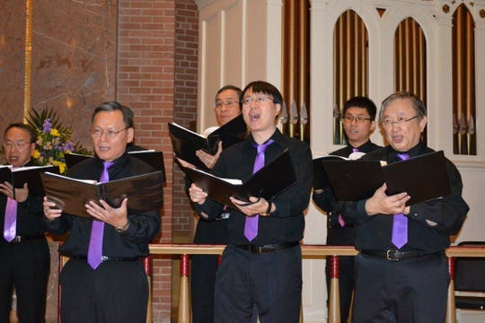 The Taiwanese Choral Society of Rochester spring concert in 2015. Photo provided.