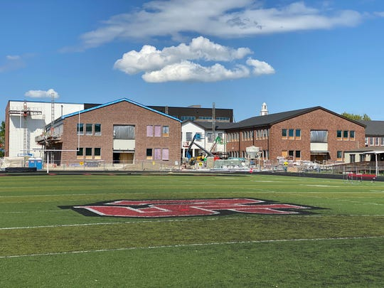 A look at North Salem High School's construction.