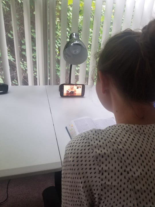 Missionary McKenna Miccolis using social media to teach.